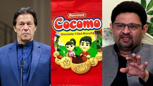 Is PTI govt to blame for fewer number of Cocomos in the Rs5 packet? PML-N's Miftah Ismail thinks so
