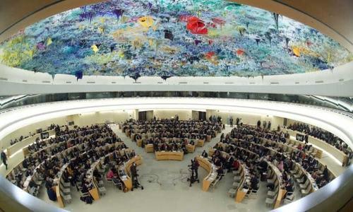 'انسانی حقوق کونسل کی نصف رکن ریاستیں رضاکاروں سے انتقامی کارروائیوں میں ملوث ہیں'
