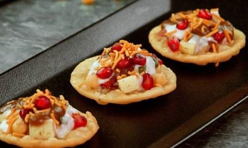 افطار کو منفرد بنانے کیلئے مزیدار 'ون بائٹ پاپڑی چاٹ' بنائیں