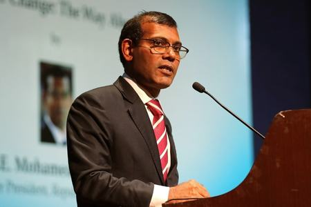 Former Maldives president Nasheed injured in blast