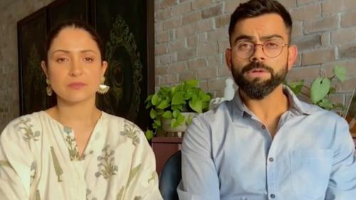 Anushka Sharma and Virat Kohli raise funds for India's fight against Covid-19