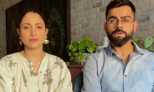 بھارت میں بحرانی صورتحال: انوشکا شرما اور ویرات کوہلی نے کورونا ریلیف فنڈ قائم کردیا