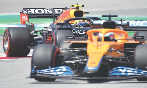 Hamilton fastest in early Spanish GP practice