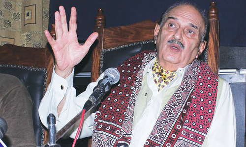 Baloch leader Prince Mohyuddin passes away