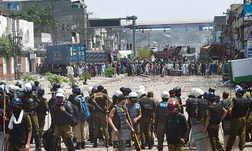 THE PROBLEMS WITH POLICING PAKISTAN