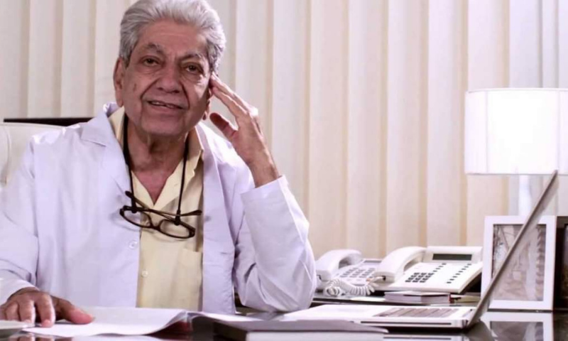 Renowned gynaecologist Faridoon Sethna passes away