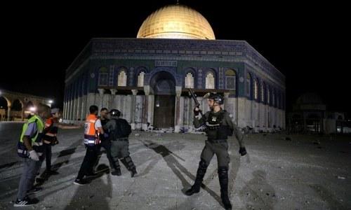 اسرائیلی فورسز کا فلسطینیوں پر حملہ، سعودیہ، یو اے ای کا اظہار مذمت