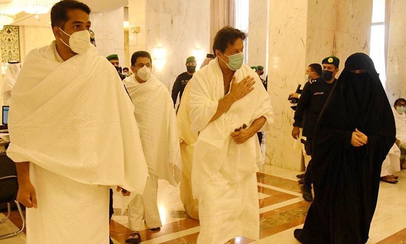 وزیراعظم عمران خان نے عمرے کی سعادت حاصل کرلی