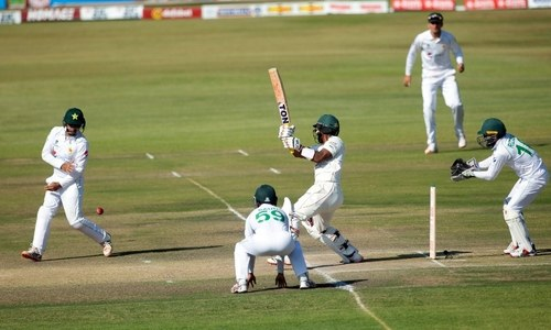 Nauman tears through Zimbabwe as Pakistan close in on innings victory