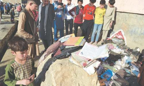 Taliban deny govt claim as toll from attack on school rises to 50