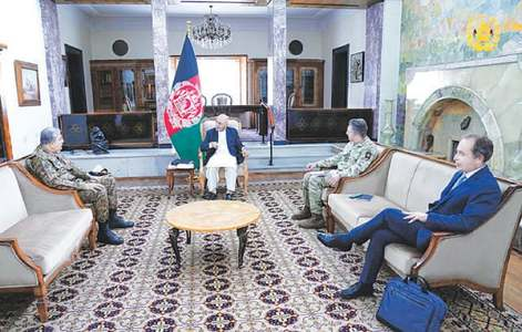 Afghanistan seeks Pakistan's help for durable peace