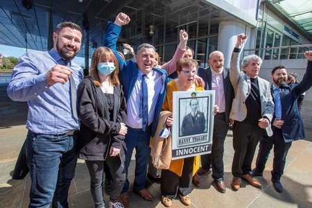 Coroner declares victims in 1971 Belfast shooting innocent