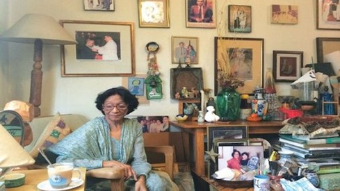 Qudsia Azmat Nisar, Pakistan's foremost watercolour painter and an educator to thousands of artists