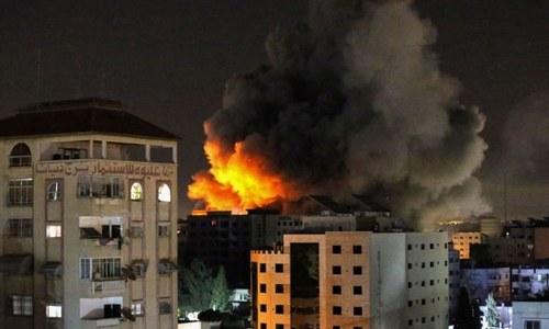 35 killed in Gaza as Israel air strikes intensify