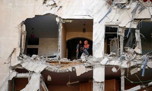 غزہ پر جاری اسرائیلی بمباری سے 14 بچوں سمیت 56 فلسطینی جاں بحق