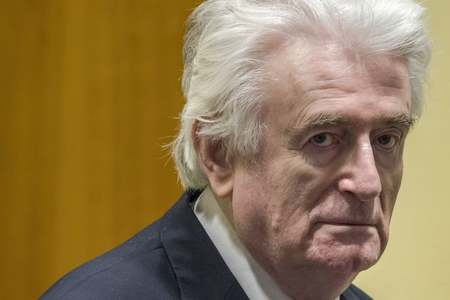 Former Bosnian Serb leader to serve rest of jail term in Britain