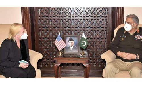 Bajwa, US diplomat discuss Afghan peace process