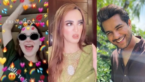 Celebrities wish Pakistan an 'achanak' Eid mubarak with jokes, outfit goals and prayers
