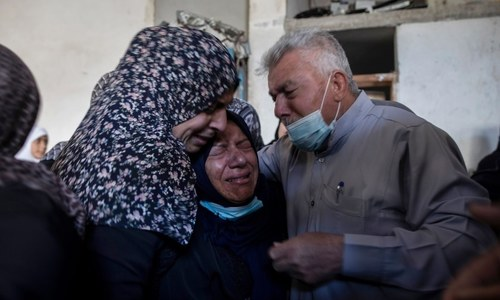 In pictures: Death and misery for Palestinians as Israel pounds Gaza with air strikes