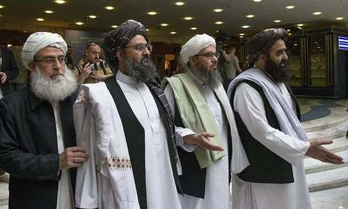 Afghan govt, Taliban negotiators discuss peace