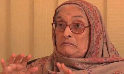 Veteran politician and ANP leader Begum Naseem Wali Khan passes away