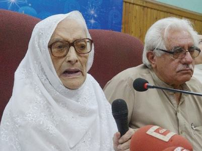 Husband and son's deaths: Naseem Wali attributes her political absence to trauma