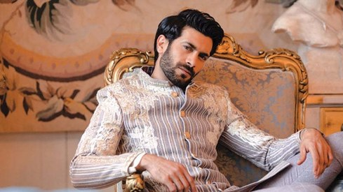 Shahzad Noor gets real on being a male model in Pakistan's female-dominated fashion industry