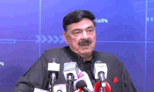 Shehbaz's name has been added to no-fly list, says Sheikh Rashid
