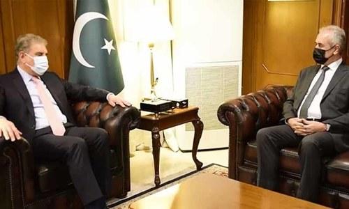 شاہ محمود قریشی کی فلسطینی سفیر سے ملاقات: غزہ کی صورتحال پر تبادلہ خیال