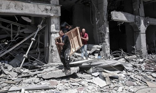 Gaza reels after Israeli strikes as death toll surpasses 200