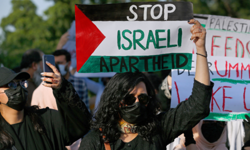 In pictures: Pakistanis hold protests in major cities against Israeli attacks on Gaza
