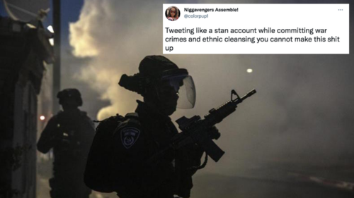 The Israel government is trying to turn genocide into a Twitter meme