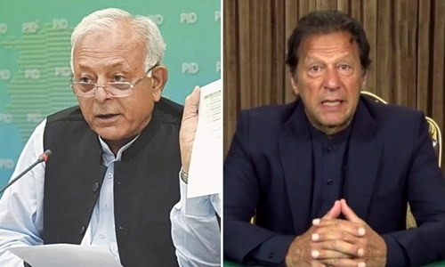 PM Imran expresses displeasure over aviation minister's presser about ring road scam