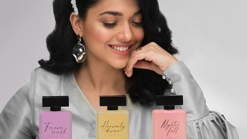 Sanam Jung just launched her own fragrance line