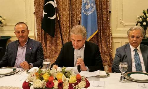 Qureshi urges global action to end Israeli assault on Palestine ahead of UNGA session