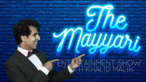 Khalid Malik is back with an all new web talkshow featuring celebrity and non-celebrity guests