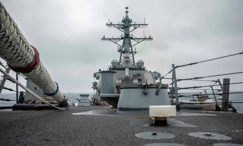 Beijing, Washington argue over naval activity in South China Sea