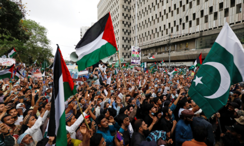 Parties express solidarity with people of Palestine, condemn Israeli aggression