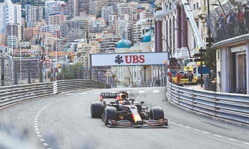 Verstappen wins Monaco GP to take F1 lead after Leclerc withdrawal