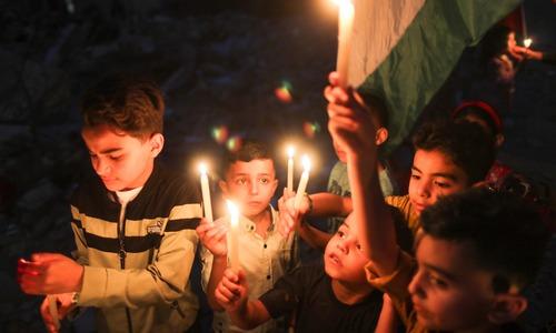 Of trauma faced by Gaza children