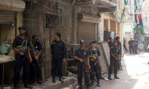 Tribal chief, sons arrested in Karachi after police killings in Shikarpur anti-bandit operation