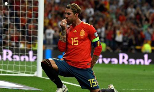Ramos exclusion leaves Real with no players in Spain's Euro 2020 squad