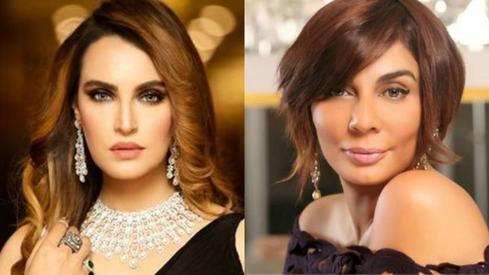 Nadia Hussain and Nabila take their fight over makeup palettes to Instagram