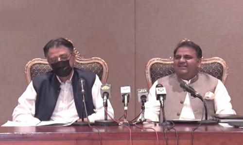 Asad Umar defends economic growth figures, credits PM Imran's coronavirus strategy for better performance