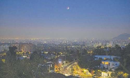 Pacific witnesses Super Moon, eclipse same day