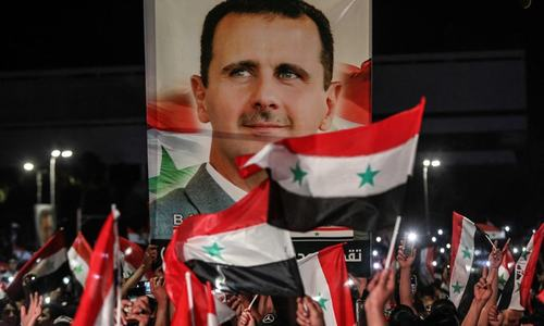 Syria's Assad re-elected for 4th term with 95pc vote