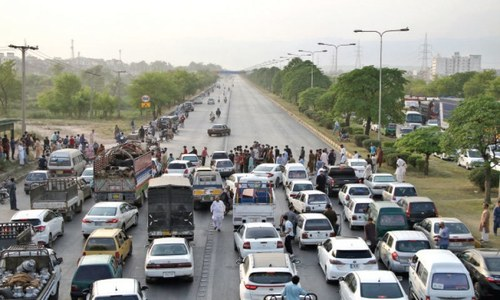 Scores of students arrested in Islamabad after protest against physical exam