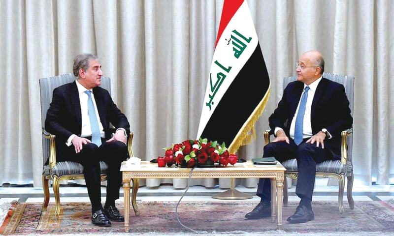 FM explores avenues of bilateral cooperation with Iraq