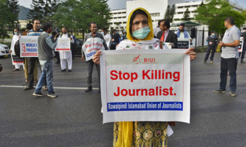 Editorial: While tabling of journalist protection bills is welcome, implementation is what matters