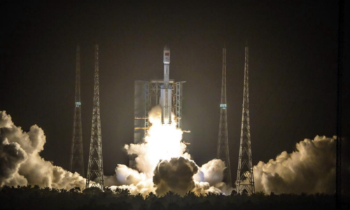 China successfully launches cargo resupply spacecraft